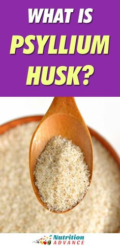 Psyllium is a concentrated form of fiber that is popular as a supplement and in low-carb baking. What benefits and side effects can it have? What Is Psyllium Husk, Psyllium Husk Benefits, Psyllium Husk Recipe, Psyllium Husk Fiber, Psyllium Husk Powder, Psyllium Seed Husks, Fiber Nutrition, Nutrition Articles, Diet And Nutrition