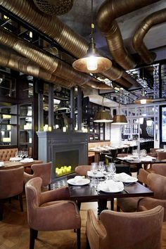 Nosh and Chow Restaurant connected to the Berns boutique hotel   Stockholm