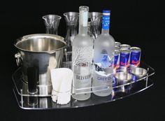 Bottle service serving tray give your venue and your vip guest an unique look. Champagne Sparklers, Bottle Sparklers, Sparkler Candles, Wedding Sparklers, Daiquiri, Bellini, Sangria, Liquor Bottles, Vodka Bottle