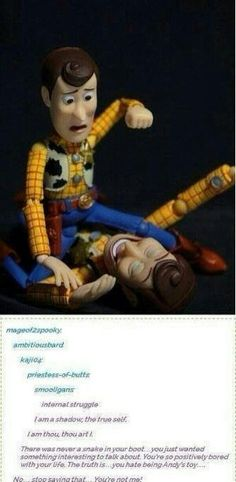 Persona 4/Toy Story