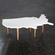 Fab.com | USA Coffee Table