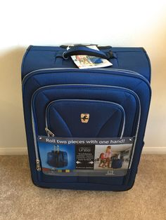 Holiday Travel With My Atlantic Compass Unite Collection Luggage & #Giveaway! #atlanticluggage  — The Queen of Swag!