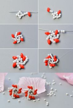 Like the flower beads earring stud?The tutorial will be published by LC.Pandahall.com soon.