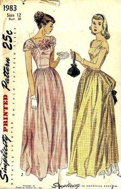 Prom Dress Blueprints
