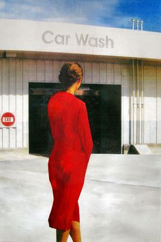Car Wash by Ahmet Murat Karayilan Thick Wallpaper, Selling Art Online, Car Wash, Saatchi Art, Formal Dresses, Painters, How To Wear, Photography, Fashion