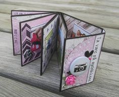 Scrappiness: Mini Mini-album med tutorial