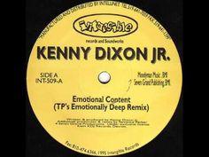 Kenny Dixon Jr. - Emotional Content (TP's Emotionally Deep Remix) - Intangible  & Soundworks INT 509