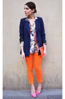 Clemson Girl: How to Wear Orange Jeans