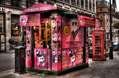 london theatre ticket booth