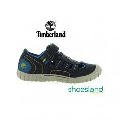 Con estas sandalias cerradas de Timberland para niños este verano puedes salir a explorar el mundo.  Para días fresquitos ideales con calcetines.  Desde el 30 al 35