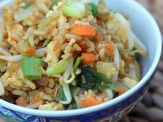 A quick fried rice that can be pulled together with ingredients that are probably already in your fridge!