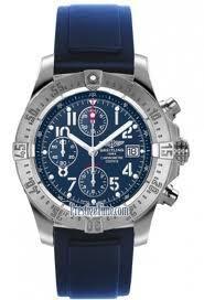 #Breitling #Avenger Blue dial, Uni-Directional Rotating bezel