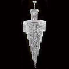 Empire 28 Light Crystal Chandelier