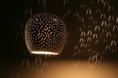 Claylight Pendant by Sharan Elran