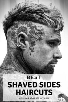 25 Cool Shaved Sides Hairstyles For Men Guide) - 25 Cool Shaved Sides Hairstyles For Men Guide) Cool Shaved Sides Hairstyles For Men – Men's Shaved Sides Haircuts Cool Hairstyles For Men, Top Hairstyles, Undercut Hairstyles, Cool Haircuts, Haircuts For Men, Shaved Side Hairstyles Men, Mens Hair Shaved Sides, Undercut Hair Men, Van Dyke Beard