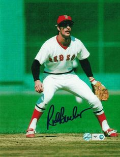 """Rick Burleson Boston Red Sox """"The Rooster'"""