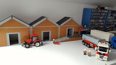 First building nearing completion for new train layout | by michaelozzie1
