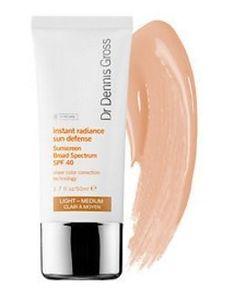 Dr. Dennis Gross Skincare Instant Radiance Sun Defense Sunscreen Broad  Spectrum SPF 40 Light  a628ce4c7bb8