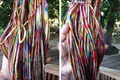 How-To: Dyeing Yarn in a Cardboard Box by Haley Pierson-Cox on http://makezine.com/craft/how-to-dyeing-yarn-in-a-cardboard-box-/
