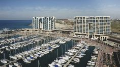The Ritz-Carlton, Herzliya overlooking the largest Marina in Israel. Honeymoon Hotels, Honeymoon Packages, Vacation Packages, Pictures Of Beautiful Places, Israel Travel, Hotels And Resorts, Luxury Hotels, Romantic Getaway, Hotel Deals