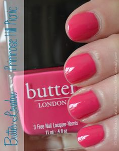 butter london primrose hill picnic