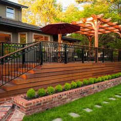 Traditional Deck Design Ideas, Pictures, Remodel and Decor
