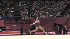 Aly Raisman's Gold Medal Floor Routine | The 33 Best GIFs Of The London Olympics