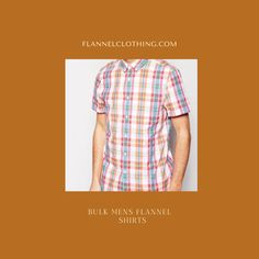 You can now purchase wholesale men's flannel shirts in bulk from Flannel Clothing by just spelling out your bulk order to the support team. Contact the team now to place an order. Flannel Clothing, Flannel Outfits, Mens Flannel Shirt, Flannelette Shirt, Short Sleeve Flannel, Bulk Order, Collar Styles, Plaid Pattern, Spelling
