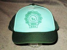 6601418cba1 Police Dept County Of Suffolk New York trucker cap hat vintage mesh snapback  m-l  Unbranded