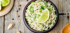 Invite this zesty cilantro lime rice into your kitchen this even. It's bursting with flavor and makes the perfect base for a burrito bowl.