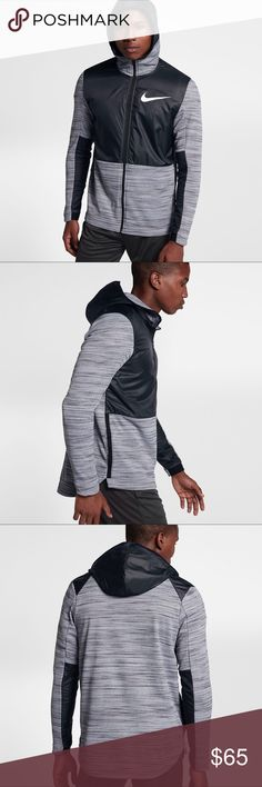 MENS NIKE THERMA BASKETBALL FULL ZIP HOODIE | NWT ☑️ Item is brand with tags.        ✔️ Retail: $100 | 100% Polyester  ☑️ Will ship out within 24 hours.  ❌ No transactions outside of Posh  🔘 All my inventory in posh comes from my eBay store page, (cross listed) so prices are competitive with that platform as well.  🔘 Stores.ebay.com/premiumlacesthreads Nike Jackets & Coats