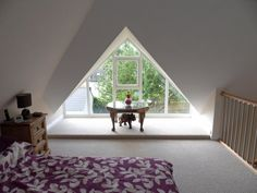 Detached Bungalow with Glass Gable Dormer extension