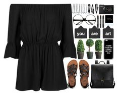 """""""She loved mysteries so much, that she became one."""" by annaclaraalvez ❤ liked on Polyvore featuring Topshop, Billabong, Casetify, BOBBY, NLY Accessories and Lord & Berry"""
