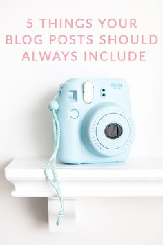In the latest installment in her How To Be A Better Blogger Series, Cathy of Poor Little IT Girl shares the 5 Things Your Blog Posts Should Always Include!