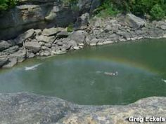 Cumberland Falls Moonbow in Corbin, KY
