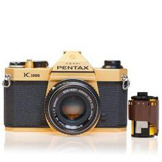 Fancy - Gold Pentax K1000 Camera