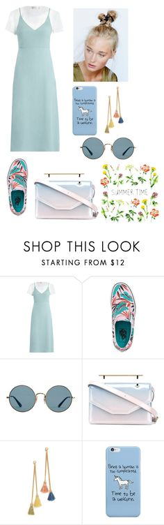 """Untitled #482"" by jullia-raquel ❤ liked on Polyvore featuring Zimmermann, Vans, Ray-Ban, M2Malletier, Ben-Amun and Free People"