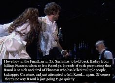This is why Hadley is such a phantastic Raoul. And why Sierra is such a perfect Christine. ♥