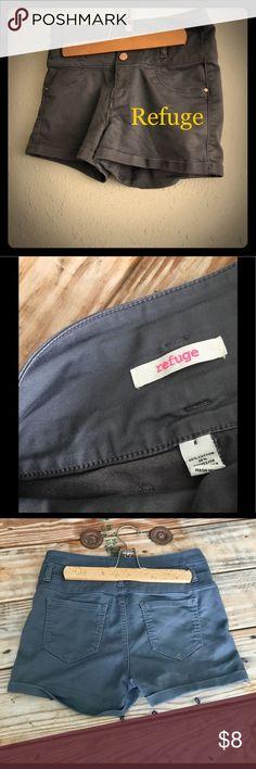 Selling this Refuge Grey Shorts SZ 8 on Poshmark! My username is: just_kota. #shopmycloset #poshmark #fashion #shopping #style #forsale #refuge #Pants