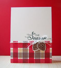 'Tis The Season Card by Cristina Kowalczyk for Papertrey Ink (October 2012)