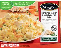 Stouffer's   Freshly Made, Simply Frozen Dinners