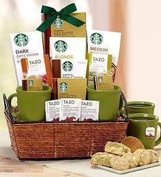 Starbucks® Break Time Basket