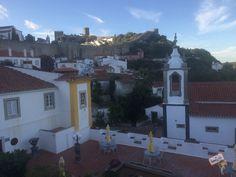 Óbidos - Portugal. Uma cidade medieval encantadora. #europa #eurotrip #portugal #obidos #cidadesmedievais
