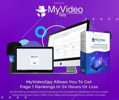 MyVideoSpy by Joshua Zamora FE & OTO Review  #myvideospy #seo #videoranking #site #youtuber #videomarketing #spy #marketing #business #myvideospyoto I Spy, You Videos, Fes, Software, How To Get, Marketing, Business, Youtube, Store