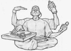 Four elements of Hip Hop!