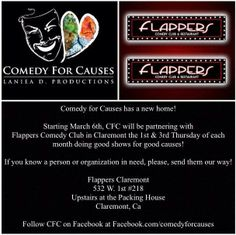 The First Comedy for Causes show at Flappers Comedy Club & Restaurant in Claremont is March for Change of Heart Pit Bull Rescue. Change Of Heart, Flappers, Pit Bull, The Fosters, Comedy, March, Restaurant, Culture, Club