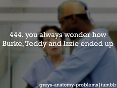 Grey's Anatomy Problems<<But we do find out what has happened to Burke. Greys Anatomy Facts, Grey Anatomy Quotes, Grays Anatomy, Grey's Anatomy Tv Show, You Are My Person, Grey Quotes, Dark And Twisty, Cristina Yang, Meredith Grey