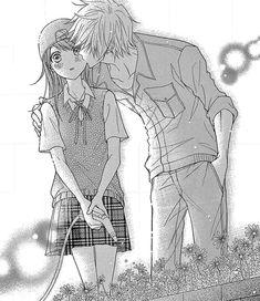 manga, dengeki daisy, and anime image Romantic Anime Couples, Romantic Manga, Cute Anime Couples, Awesome Anime, Anime Love, Daisy Tumblr, Image Couple, Couple Art, Dengeki Daisy Manga