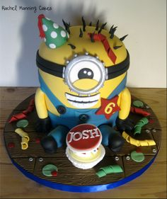 dispicable me cakes | Minion cake Despicable Me — Birthday Cakes