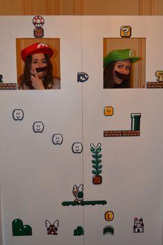 Cheese! Photocall / photobooth Mario